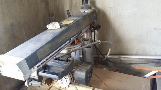 De Walt radial arm Saw DW-1251 Powershop before restoration